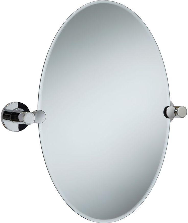 Buy Tilting Bevelled Oval Bathroom Mirror At Argoscouk