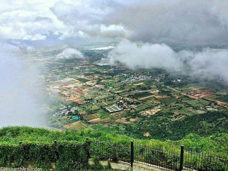View from Nandi Hills, Bangalore, India