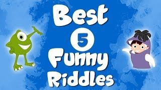 Best 5 HARD and Most FUNNY riddles for kids and adults | Brain Teasers | | lodynt.com |لودي نت فيديو شير