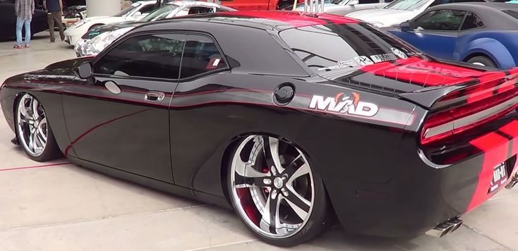 2010 Dodge Challenger Street Machine SEMA 2013. Hopefully, it's a 392! :)