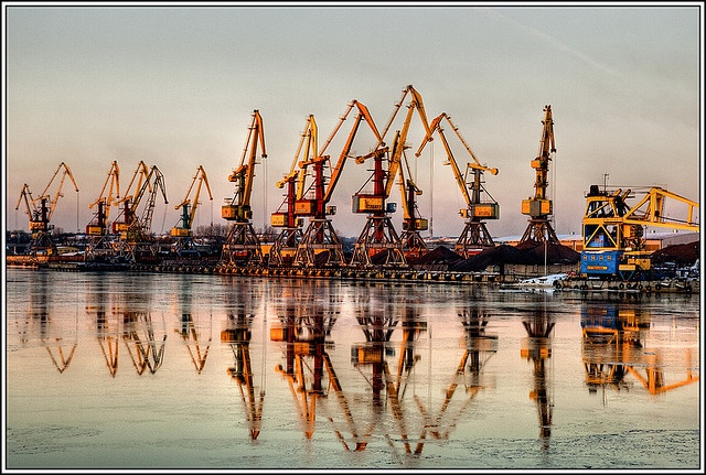 Ventspils harbor