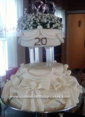 Anniversary cakes, Anniversary cake designs and My sister ...