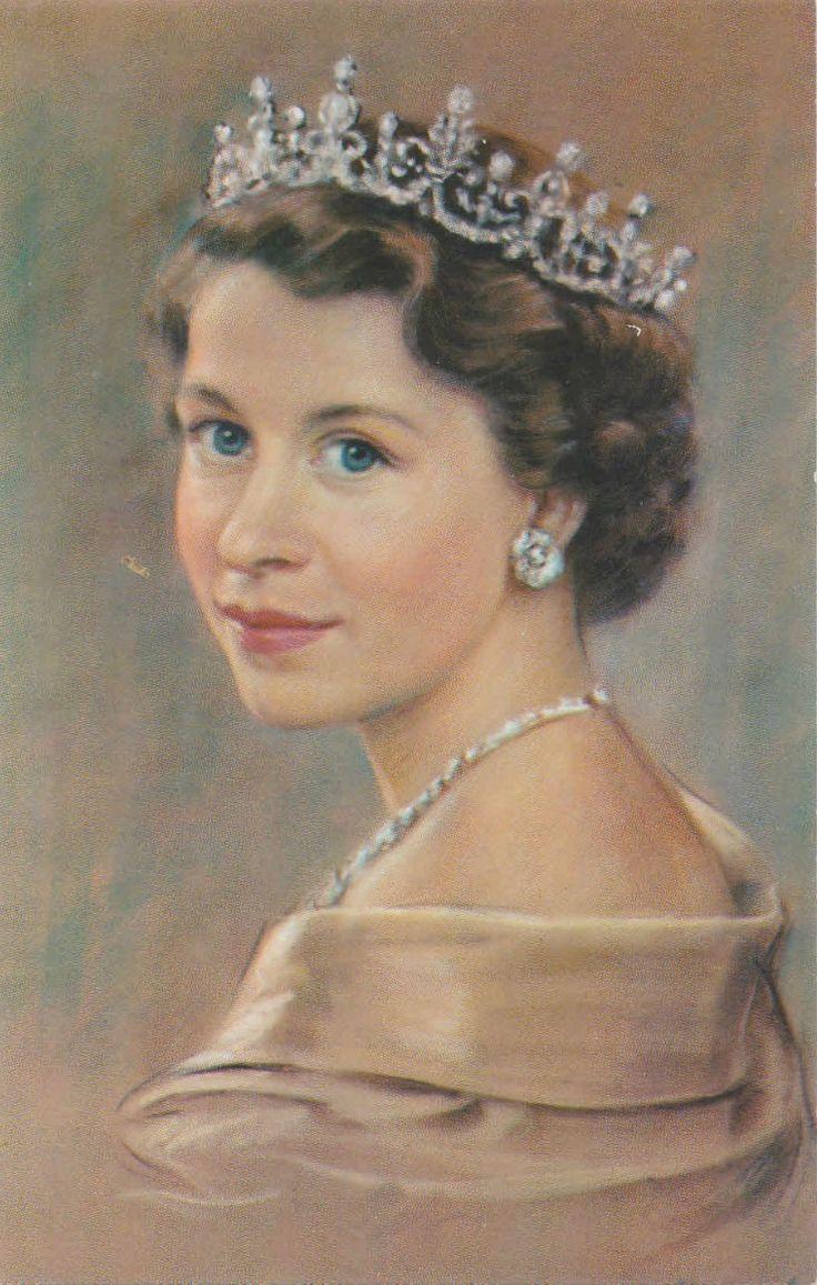 Beautiful portrait of Queen Elizabeth II                                                                                                                                                                                 More