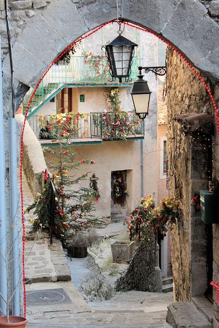 Luceram, France