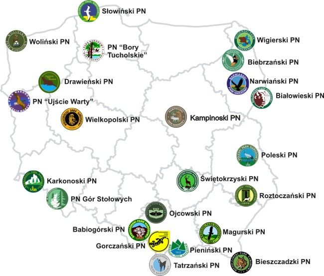 National Parks of Poland