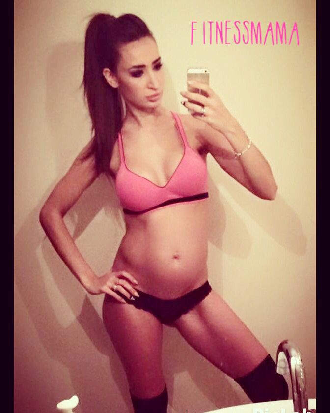 #5month #23weeks #pregnant #fitmom #fitnessmama