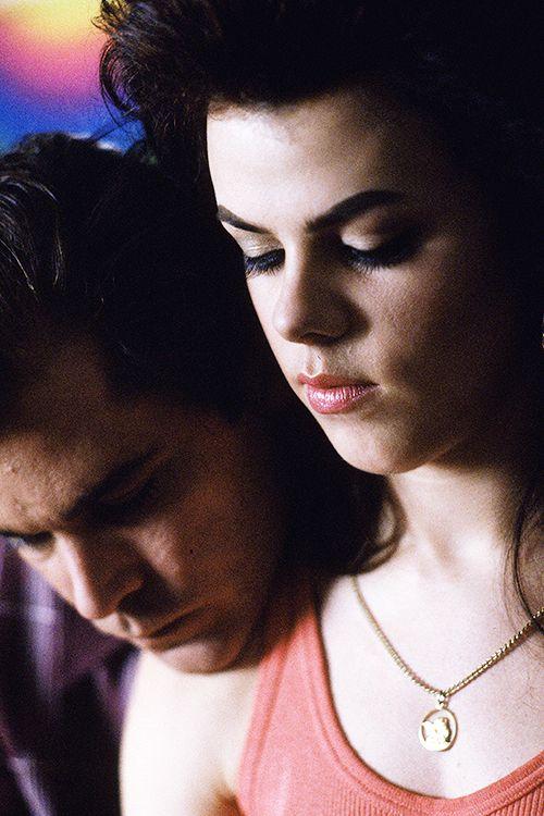 Ray Liotta and Debi Mazar in Goodfellas, 1990. Director: Martin Scorsese.