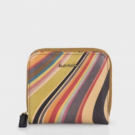 Paul Smith Women's Wallets - Small Swirl Zip Around Wallet