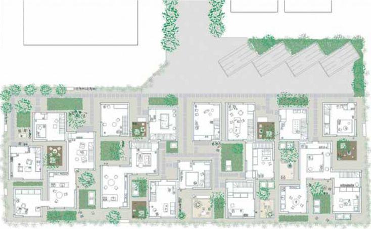 Kazuyo Sejima Seijo Apartments Plantas Pfc Pinterest House Plans Blog And Design Blogs