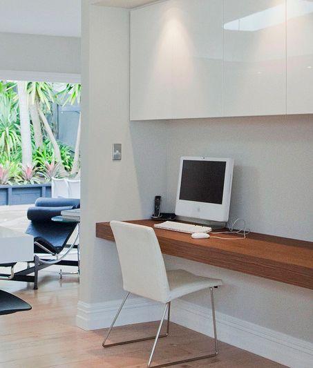 Computer nook for living/kitchen