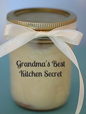 Grandma's Best Kept Kitchen Secret: Bacon Greese: 10 Uses ~ and bacon grease keeps for up to six month in your fridge and nine months in the freezer.