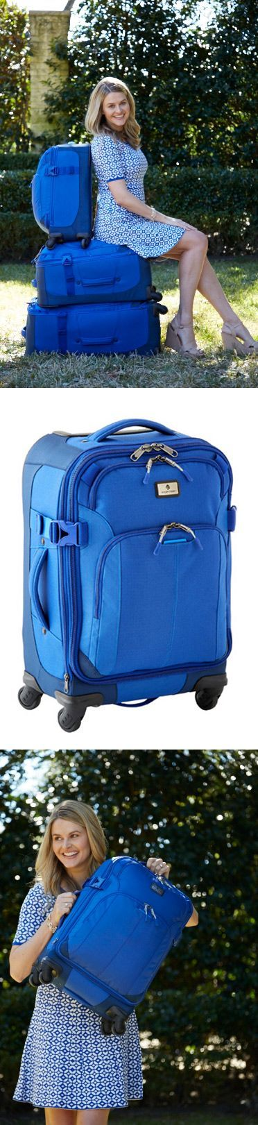 Our Eagle Creek Luggage has been a staple for years! The collection is perfect for long stays and short trips!