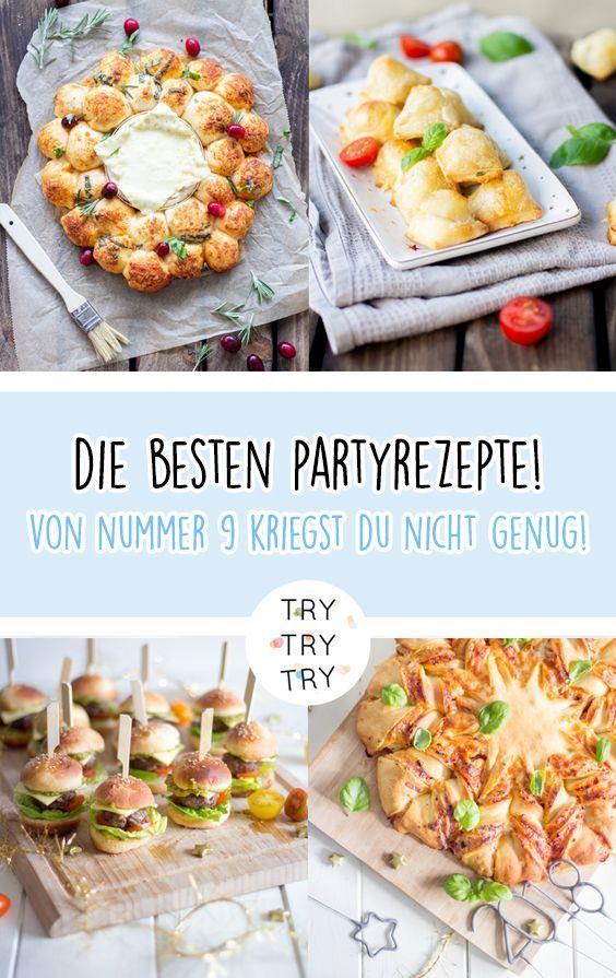 15+ einfache und kreative Ideen für Party Essen / Party Snack für Silvester / …
