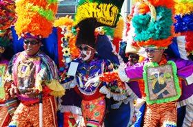 Monocucos, characters from the Carnival de Barranquilla