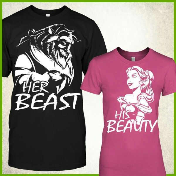 beauty and her beast Buy 'his beauty and her beast' by saucydarkmatter as a duvet cover, hardcover  journal, or clock.
