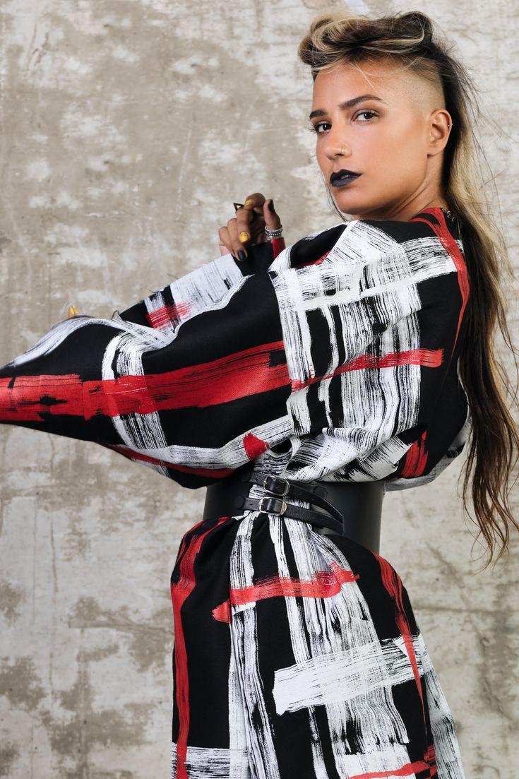 Black Leather Corset Belt, Cyberpunk Fashion Accessory, Statement High Waist Belt, Holidays Gifts