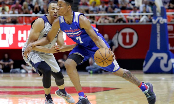 Harper   Markelle Fultz showing in summer league what made him top pick = SALT LAKE CITY — Sleepy-eyed and gasping for breath at high altitude, Markelle Fultz has looked unassuming in moments of his first two Utah NBA Summer League games. The top pick of the draft by the Philadelphia 76ers, having.....