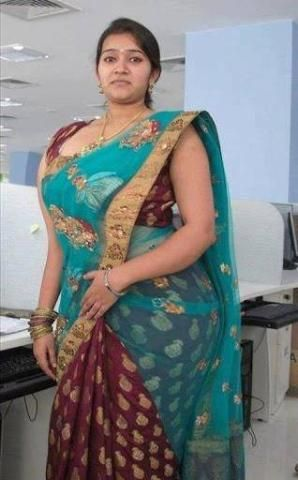 My 1st daughter recent photo at her office in b'day dress   picture...