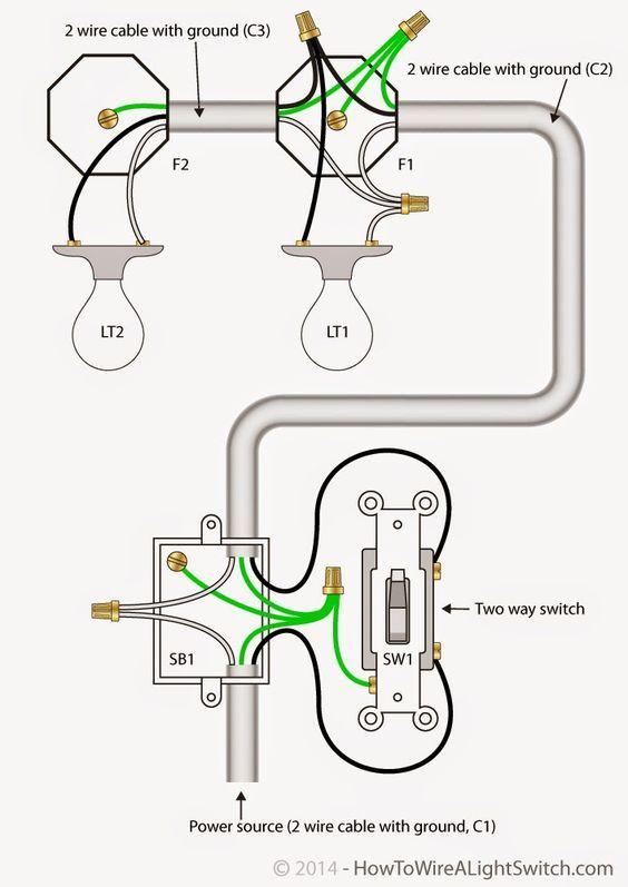 6 way light diagrama de cableado