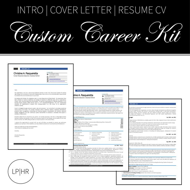 LPHR Services // Custom Career Kits // www.lphr.co