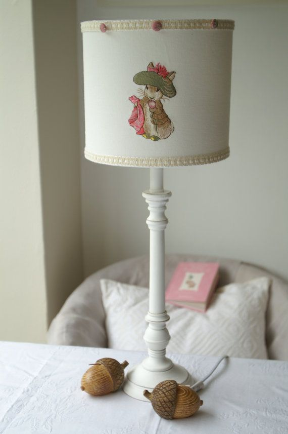 18 best beatrix potter images on pinterest beatrix potter evie beatrix potter benjamin bunny handmade lampshade by evieeccles sciox Image collections