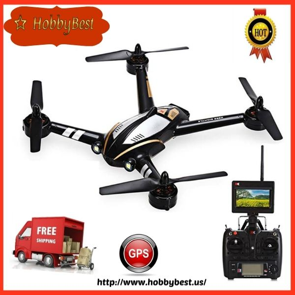 RC Quadcopter GPS UAV Drone Power 2.4G 4CH 6axis gyro FPV RTF 720 Camera  The RC Quadcopter GPS UAV Drone Power A.K.A XK X252 Shuttle is a brand new quadcopter drone. includes a 5.8G FPV kit with a 720p camera and a monitor mounted on the trans...