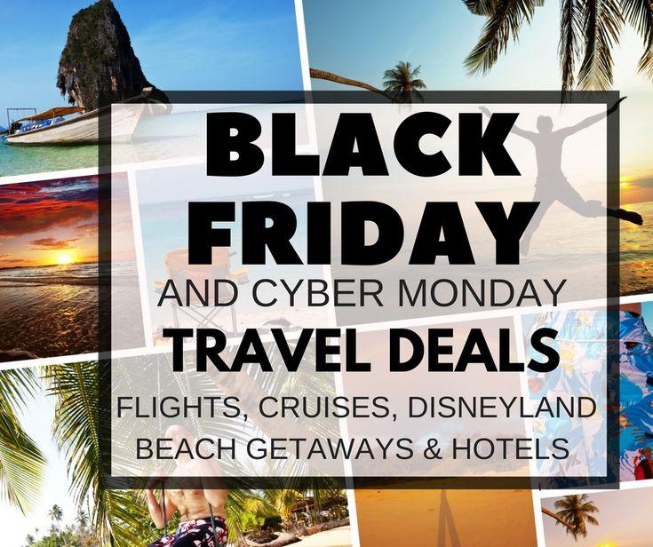 The best Black Friday Travel Deals (including Cyber Monday Travel Deals) are listed here, including Disneyland, Cruises, Black Friday Flights & even hotels!