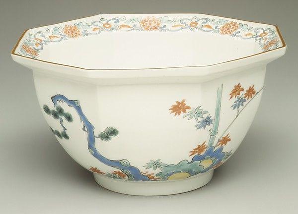 ca. 1700–10 Culture:Japanese Medium:Hard-paste porcelain with colored enamels over transparent glaze (Hizen ware; Kakiemon type)