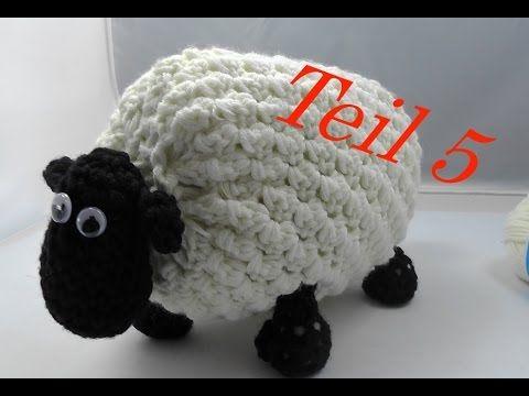 SHIRLEY von SHAUN das Schaf Häkeln mit Veronika Hug - Teil 5 Zusammennähen