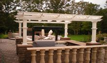 Create an unique and beautiful outdoor living space design and enhance your property value that you deserve most if you are invest a lot of budget.