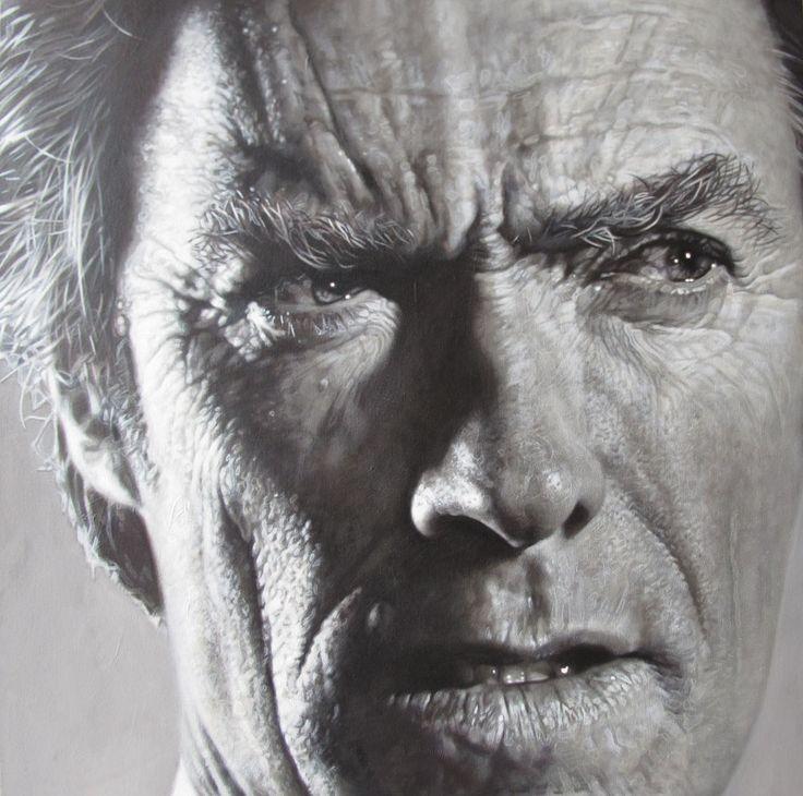 Sebastian Krügers acrylic portraits