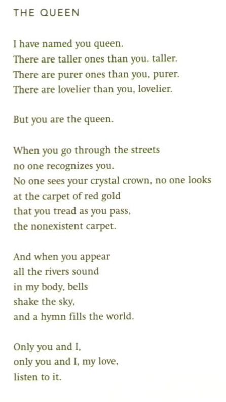 """""""The Queen"""" by Pablo Neruda"""