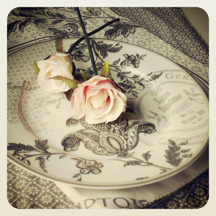 Greengate, rose, borddekking