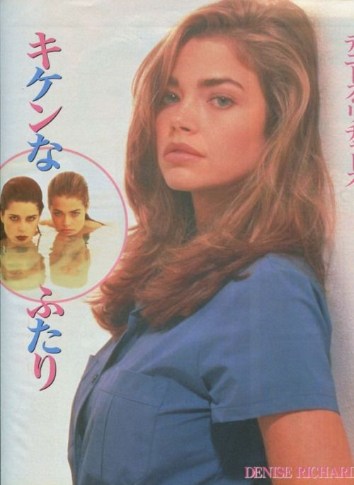 houseofsushi: Denise Richards / Wild Things