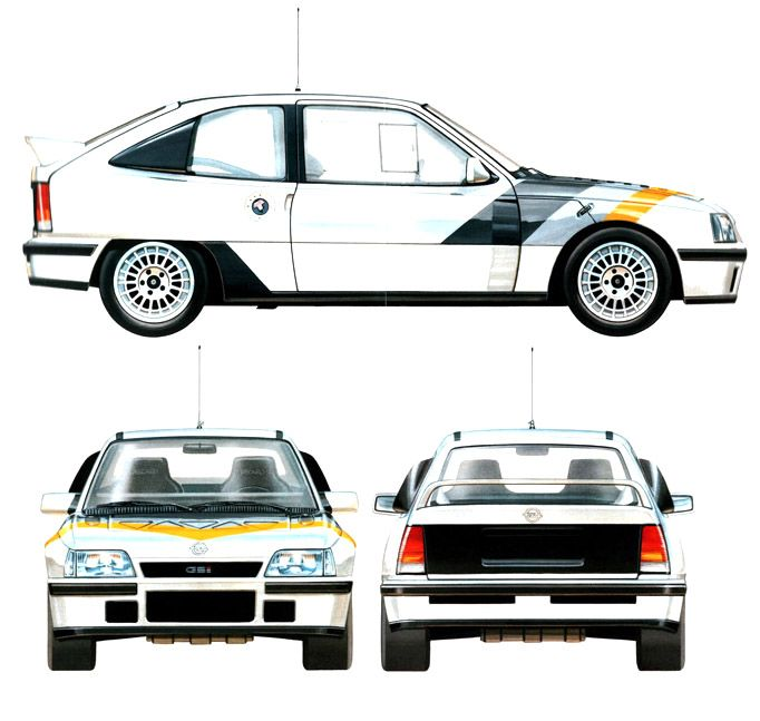 Opel Kadett GSi 4x4 Rallye (1984)