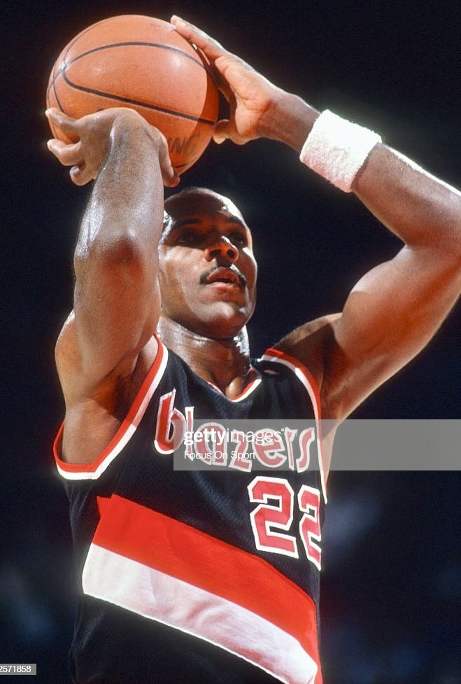 Pin By Portland Trail Blazers On Our Town Your Team Trailblazer Clyde Drexler Portland Trailblazers