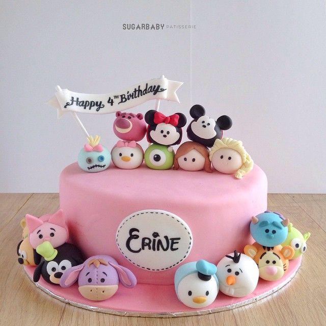 Disney Tsum Tsum cake