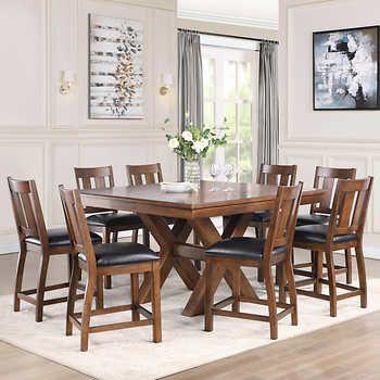 30++ Pulaski furniture 9pc counter height dining set Various Types
