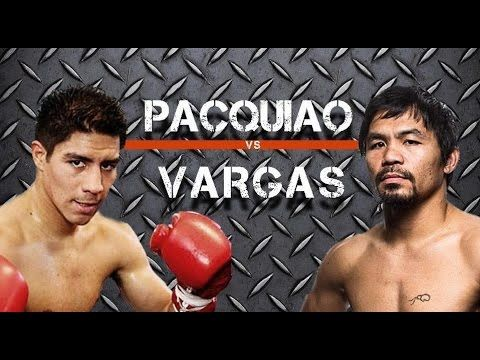 Manny Pacquiao vs  Jessie Vargas Time TV online streaming