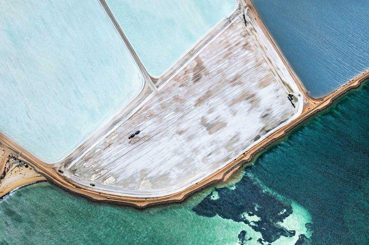 Australia's Salt Fields Captured by Simon Butterworth   Yellowtrace