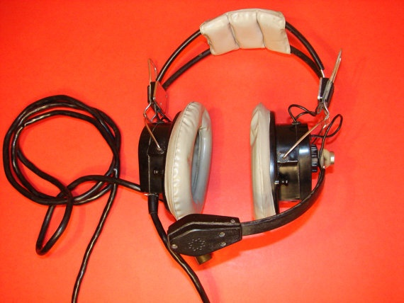 Soviet Vintage AIR forces High quality Headphones by Luckytage, €13.00