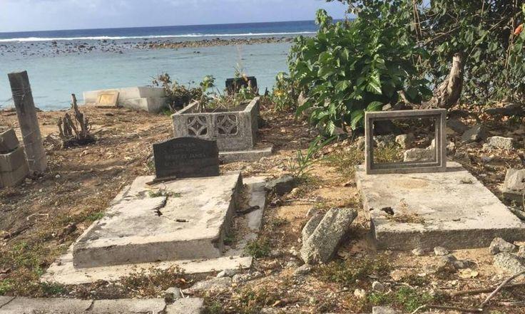 Kiwi Graves Washing Away In Rarotonga Following Years Of Erosion