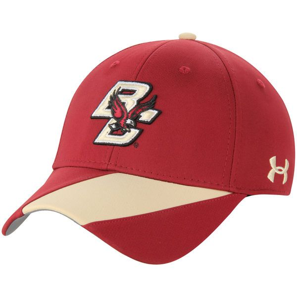 Boston College Eagles Under Armour Sideline Renegade Accent Performance Flex Hat - Maroon - $32.99