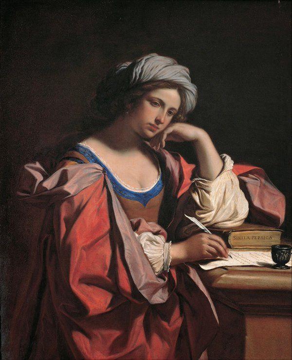 Maria Adele Nari @MariaAdeleNari  4시간4시간 전 번역 보기 GUERCINO: - Sibilla Persica 1647-1648 Musei Capitolini