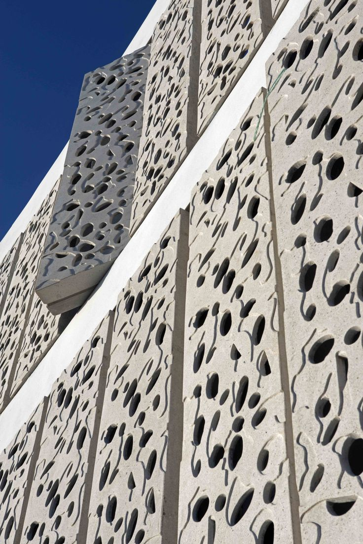 Perforated building facades that redefine traditional design see more