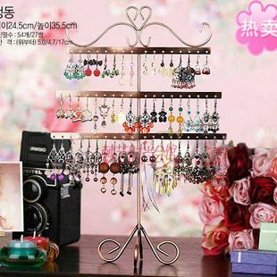 New 2014 Jewelry Earring Display, 54 Holes Earring Jewelry Display Rack Stand Holder 9054
