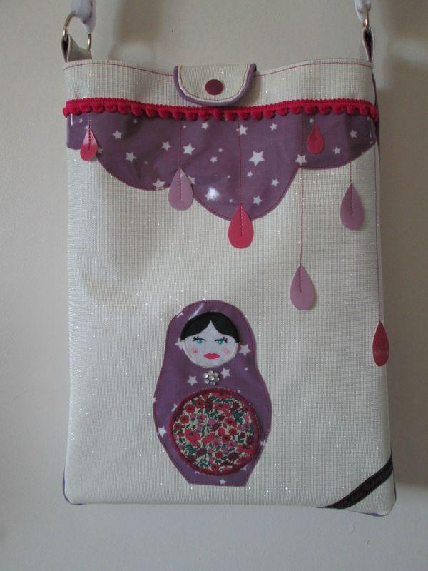 Un nouveau sac pour le défi Cré-Enfantin et ses lutins (Gabarit du sac Express disponible sur le blog de Cré-Enfantin)