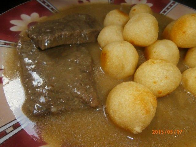 Vynikající recept s hovězím masem. Jednoduché a chutné hlavní jídlo.