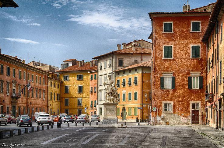 Pisa. Piazza Francesco Carrara. Пиза. Пьяцца Франческо Каррара. | Flickr - Photo Sharing!