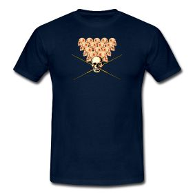 'Pool Pirate' T-shirt design @spreadshirt  #tees #pirate #pool #cue #poolcue #billiards #snooker #poolshark #skull #8ball #skulls #gamespeopleplay #headgames #leisurewear #casualwear #menswear #sports #sportswear #headswillroll #play #gameon #bargames #spreadshirt